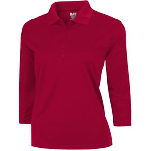 Baw Ladies 3/4 Sleeve Xtreme-Tek Polo Shirts