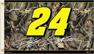 NASCAR Jeff Gordon Realtree Camo 2-Sided Flag