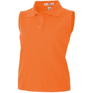 Baw Ladies Sleeveless Polo Shirts