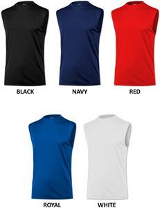 Baw Men's Sleeveless Xtreme-Tek Shirts