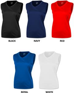 Baw Ladies Sleeveless Extreme-Tek Shirts