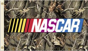 NASCAR Realtree Camo 2-Sided 3' x 5' Flag