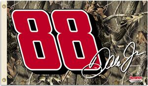 NASCAR Earnhardt Jr. Realtree Camo 2-Sided Flag
