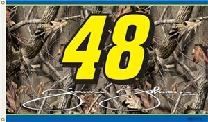 NASCAR Jimmie Johnson Realtree Camo 2-Sided Flag