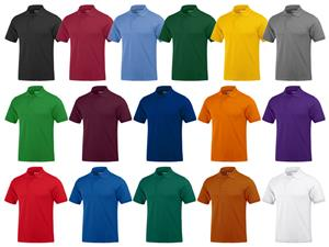 Baw Men's Short Sleeve Everyday Polo Shirts