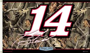NASCAR Tony Stewart Realtree Camo 2-Sided Flag