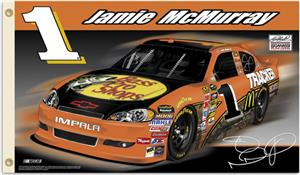 NASCAR Jamie McMurray #1 2011 2-Sided Flag