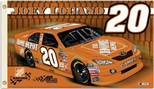 NASCAR Joey Logano #20 2011 2-Sided Flag