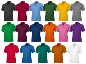 Baw Ladies Short Sleeve Everyday Polo Shirts
