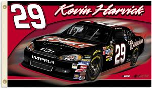 NASCAR Kevin Harvick #29 2011 2-Sided Flag
