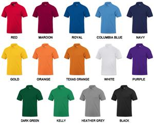 Baw Adult Short Sleeve Classic Polo Shirts