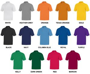 Baw Youth Short Sleeve Classic Polo Shirts