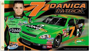 NASCAR Danica Patrick #7 2-Sided 3' x 5' Flag