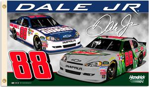 NASCAR Dale Earnhardt Jr. #88 2-Sided 3&#39; x 5&#39; Flag