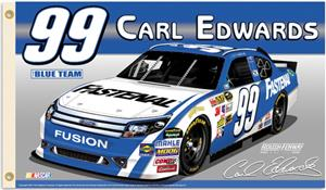 NASCAR Carl Edwards #99 2-Sided 3' x 5' Flag