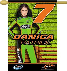 "NASCAR Danica Patrick #7 2-Sided 28"" x 40"" Banner"