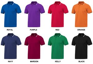 Adult SS Birdseye Polo Shirts