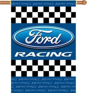 "NASCAR Ford Racing 2-Sided 28"" x 40"" Banner"