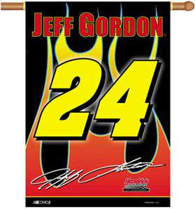 "NASCAR Jeff Gordon #24 2-Sided 28"" x 40"" Banner"