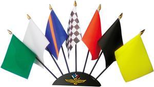 NASCAR Indy Motor Speedway Seven Piece Flag Set