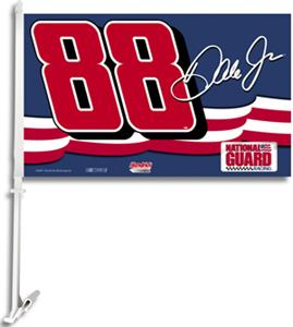"NASCAR Earnhardt Jr. 2-Sided 11"" x 18"" Car Flag"
