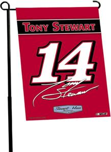 "NASCAR Tony Stewart 2-Sided 13"" x 18"" Garden Flag"