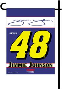 "NASCAR Jimmie Johnson #48 13"" x 18"" Garden Flag"