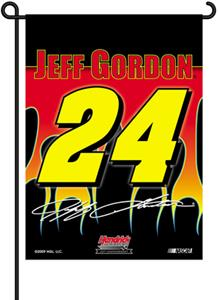 "NASCAR Jeff Gordon 2-Sided 13"" x 18"" Garden Flag"