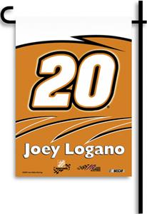 "NASCAR Joey Logano 2-Sided 13"" x 18"" Garden Flag"