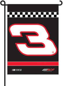 "NASCAR #3 RCR 2-Sided 13"" x 18"" Garden Flag"
