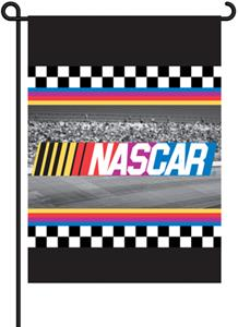 "NASCAR 2-Sided 13"" x 18"" Garden Flag"