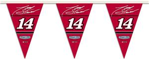 NASCAR Tony Stewart #14 25ft Party Pennant Flags
