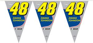 NASCAR Jimmie Johnson #48 25ft Party Pennant Flags