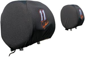 NASCAR Denny Hamlin #11 Headrest Covers - Set of 2