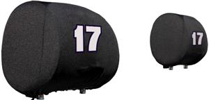 NASCAR Matt Kenseth #17 Headrest Covers - Set of 2