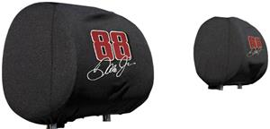 NASCAR Earnhardt Jr #88 Headrest Covers - Set of 2