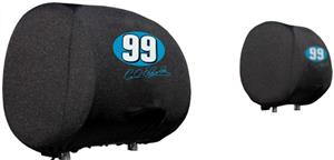 NASCAR Carl Edwards #99 Headrest Covers - Set of 2