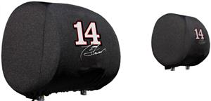 NASCAR Tony Stewart #14 Headrest Covers - Set of 2