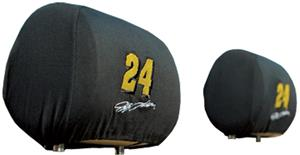 NASCAR Jeff Gordon #24 Headrest Covers - Set of 2