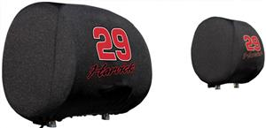 NASCAR Kevin Harvick Headrest Covers - Set of 2