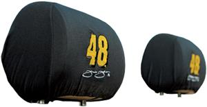 NASCAR Jimmie Johnson Headrest Covers - Set of 2