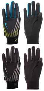 NIKE Men's Elite Storm Fit Tech Run Glove