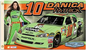 NASCAR Danica Patrick #10 2-Sided 3&#39; x 5&#39; Flag