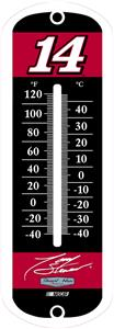 "NASCAR 12"" Tony Stewart #14 Outdoor Thermometer"