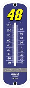 "NASCAR 12"" Jimmie Johnson #48 Outdoor Thermometer"