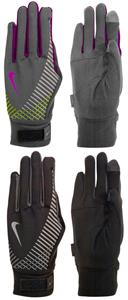 NIKE Women&#39;s Elite Storm Fit Tech Run Glove