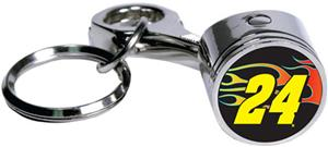 NASCAR Jeff Gordon #24 Piston Rod Key Chain