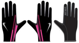 NIKE Women's Swift Attitude Run Glove