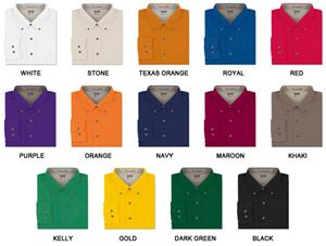 Men&#39;s LS Easy Care Twill Woven Shirts