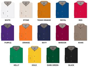 Ladies LS Easy Care Twill Woven Shirts